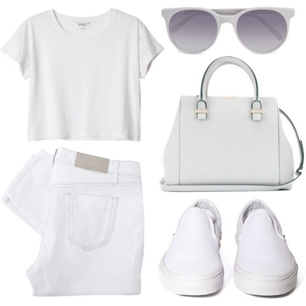 """Look 5 - Casual"" by splashthestyle on Polyvore polyvore, fashion set, fashion, ootd, collage, minimal, outfit"