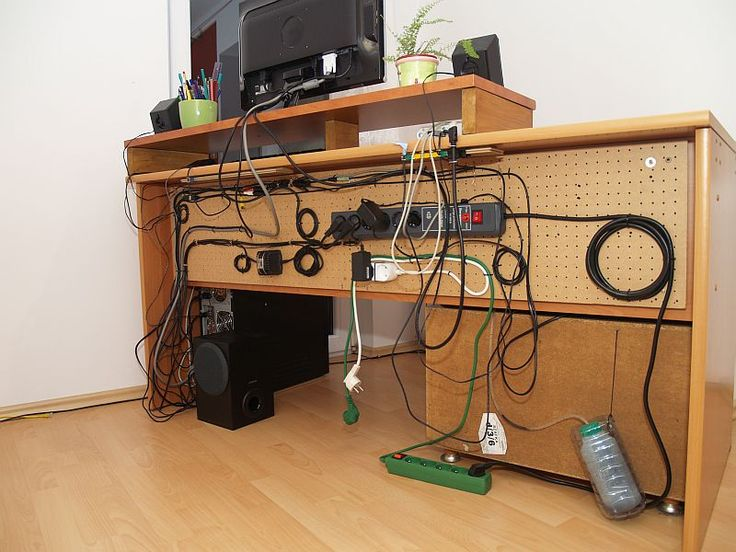 Interesting cable management desk ideas for josh pinterest for Best home office electronics