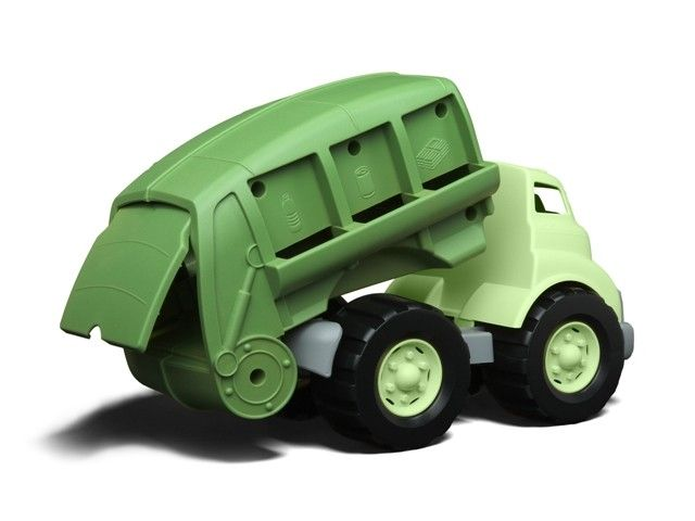 Green Toys - Eco Friendly Recycling Truck. Mr O has been begging me for one of these for ages! #EntropyWishList #PintoWin