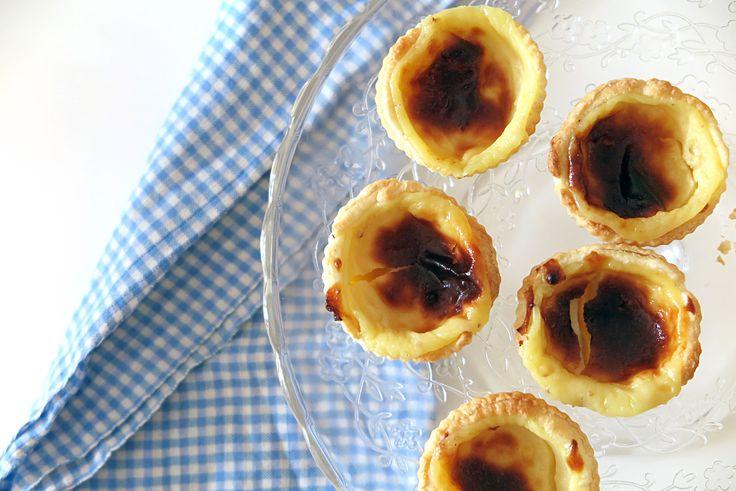 La ricetta facile e infallibile dei pasteis de nata, le tortine alla crema portoghesi tipiche di Belém.