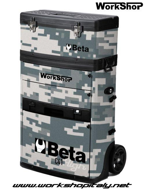 Trolley Beta C41H Camo edition concept www.workshopitaly.net