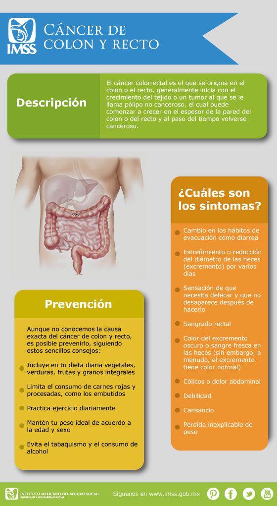 Síntomas y Prevención del Cáncer de Colon y Recto.