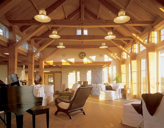 Vaulted Ceilings Rafters Window Wall Supports Home