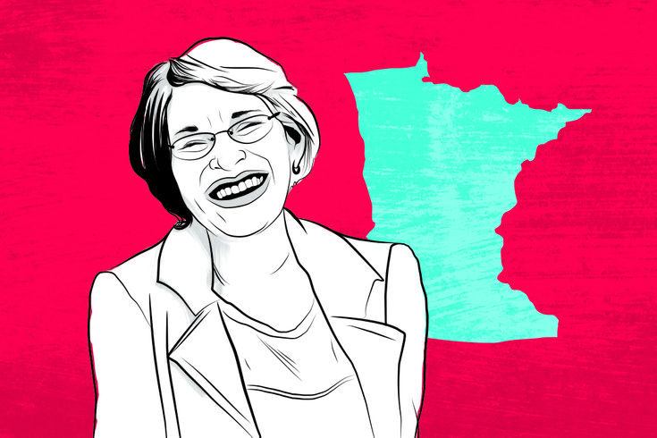 AFTER A DECADE IN OFFICE, SEN. AMY KLOBUCHAR IS GETTING DOWN TO BUSINESS by Natalie Daher