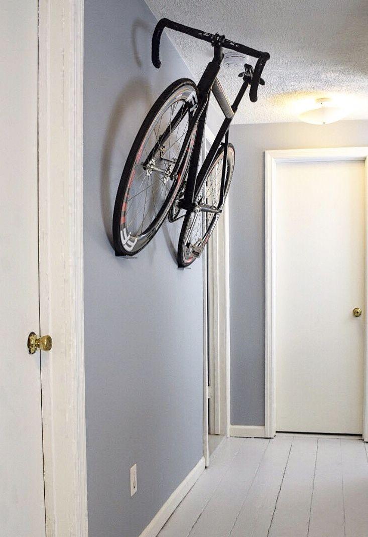 Horizontal Bike Storage For Hallways Bike Storage Apartment