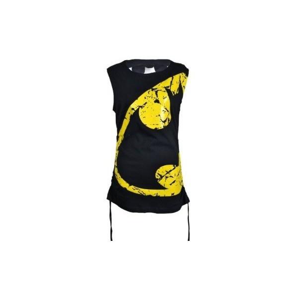 Wing Top Ladies (Batman) Batman New Gothic Emo Punk Fashion:... ❤ liked on Polyvore