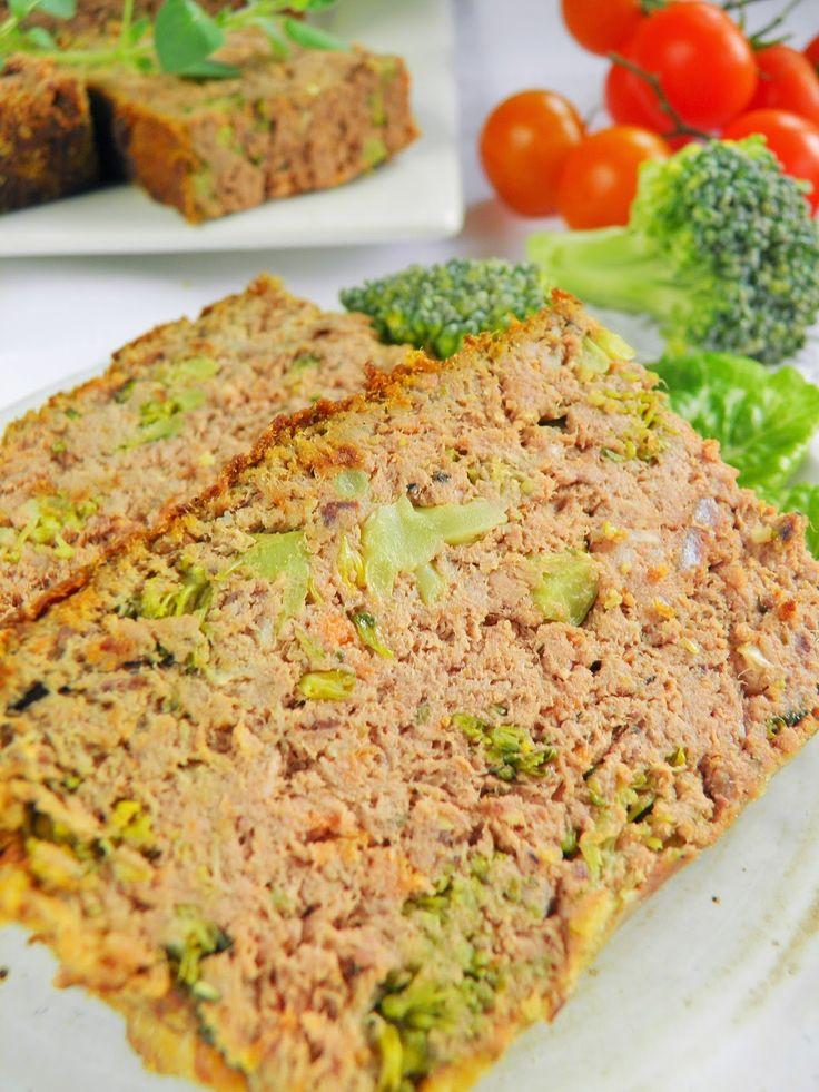 Sio-smutki: Domowy pasztet z brokułem