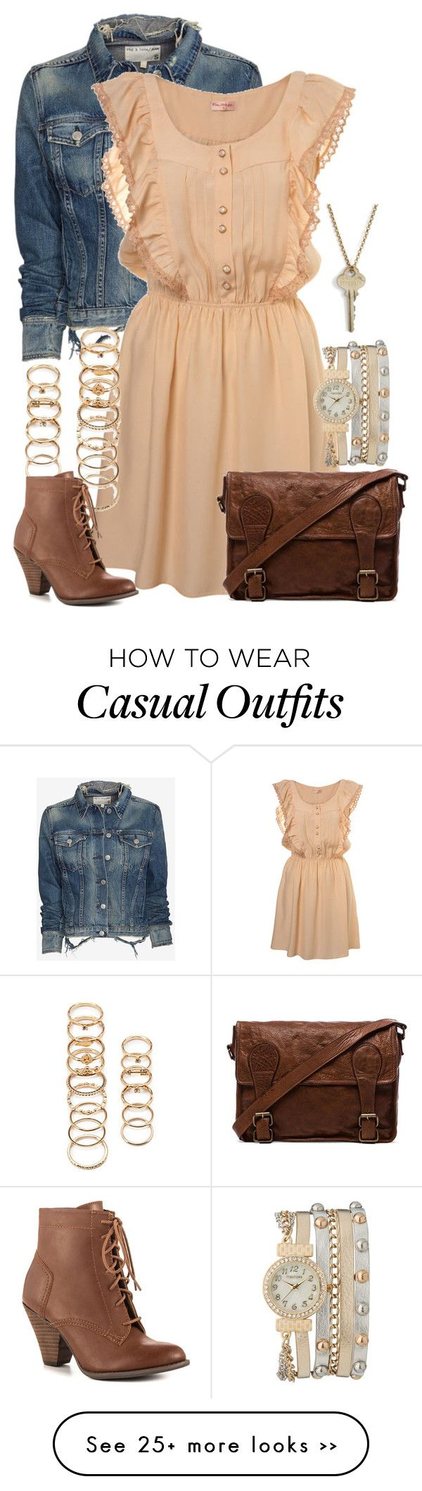 """""""Hufflepuff Casual"""" by graceeliza21 on Polyvore"""