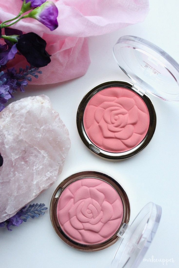 These Milani Rose Powder Blushes are one of those pretty products that won't break the bank, but are seriously amazing in terms of quality!