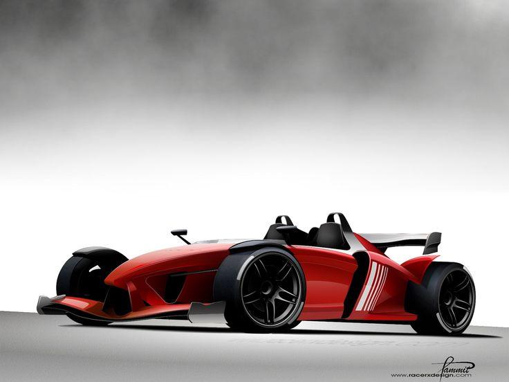 2008 Racer X Design RZ Formula Concept - Front Angle Race - 1280x960 - Wallpaper