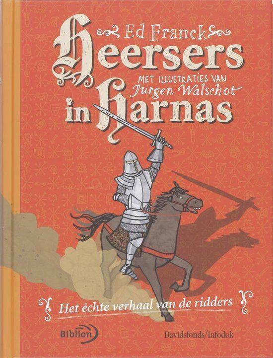 Heersers in harnas van Ed Franck (2008). Niet meer in de boekhandel te koop.