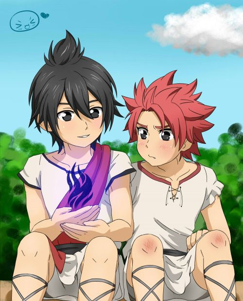 natsu and zeref relationship with