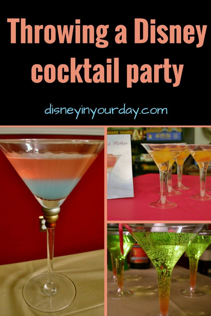 Themed Cocktail Party Ideas Part - 25: A Disney Cocktail Party