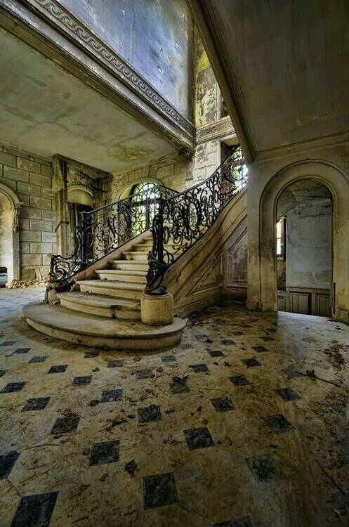 Abandoned house in France | via: Abandoned's Twitter    ........................................................ Please save this pin... ........................................................... Because For Real Estate Investing... Visit Now!  http://www.OwnItLand.com