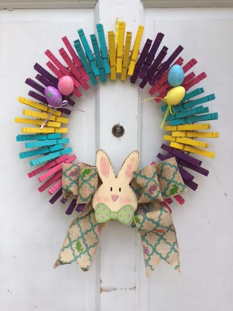 Best 25 Clothes Pin Wreath Ideas On Pinterest Source