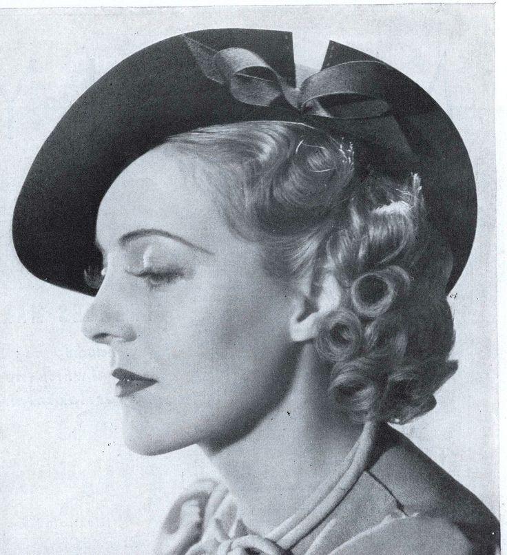 https://flic.kr/p/7W88aT | Pat Patterson in hat III, 1937 | Mrs. Charles Boyer