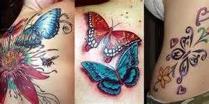 3d Butterfly Tattoo Design - Hot Girls Wallpaper