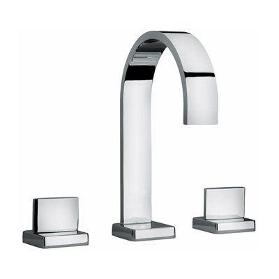 Jewel Faucets 1510 J15 Bath Series 2 Lever Handle Roman Tub Faucet with Classic Ribbon Spout