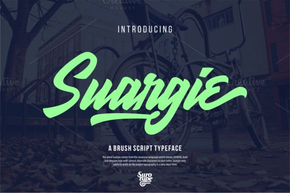 Suargie (50% Off ) by Surotype on Creative Market