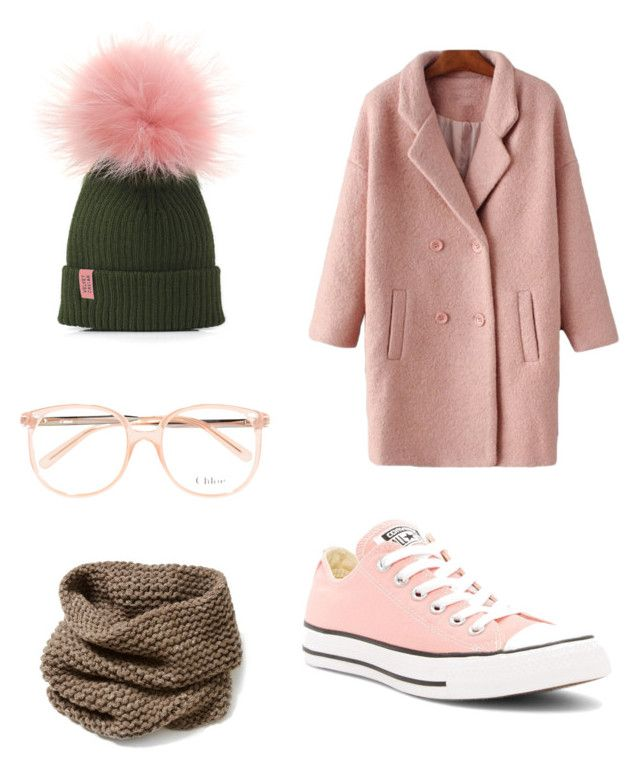 """""""winter street wear   AK97"""" by ak-97 on Polyvore featuring Chloé, Lafayette 148 New York and Converse"""