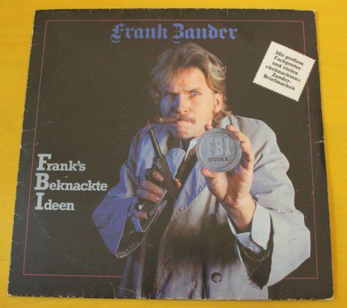 Frank-Zander-FBI-Frank-039-s-Beknackte-Ideen-Vinyl-LP-inkl-034-wir-beamen-034