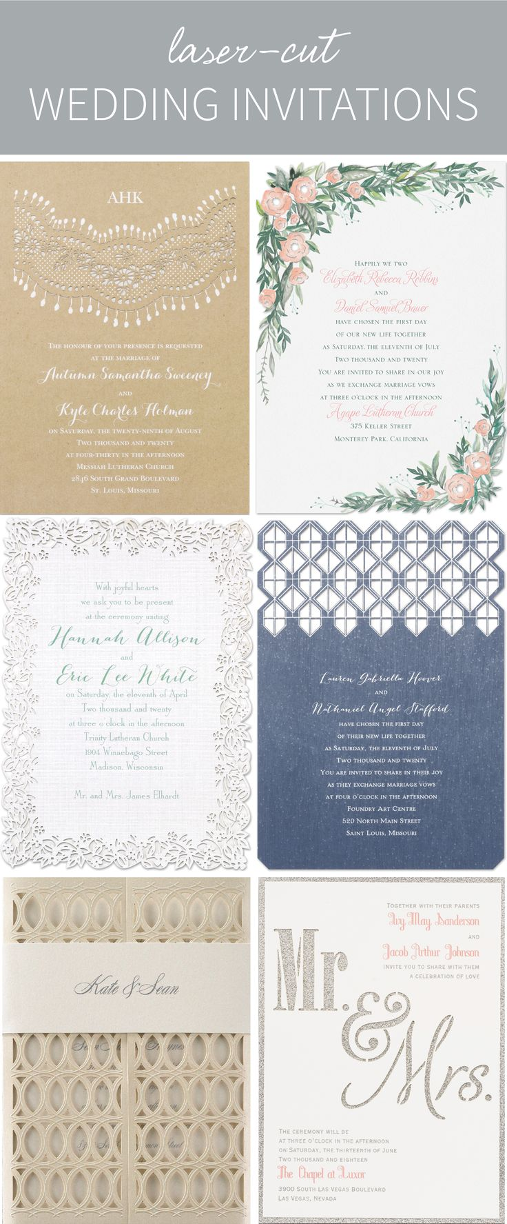 79 Best Laser Cut Invitations Images On Pinterest Laser Cut