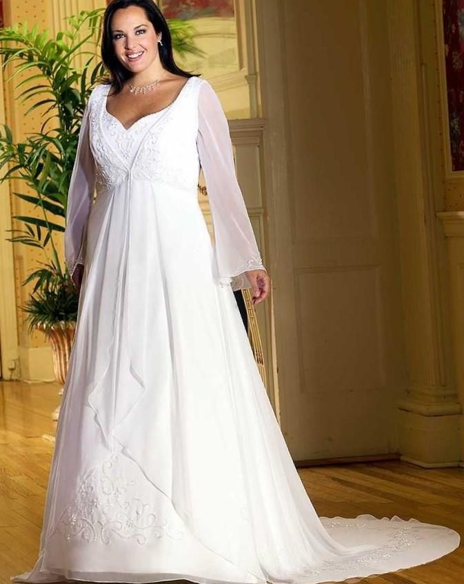 Celtic wedding dresses plus size - http://pluslook.eu/dresses/celtic-wedding-dresses-plus-size.html. #dress #woman #plussize #dresses