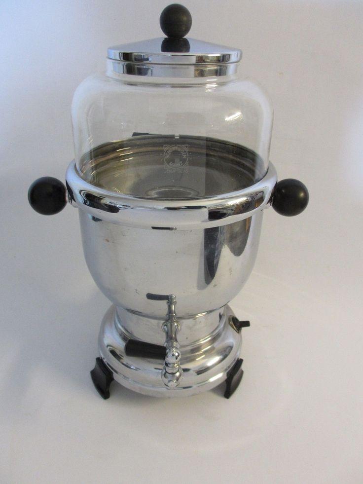 Art Deco Kaffeemaschine Rowenta E5236 Perkolator Samowar Kaffeebereiter 30er…