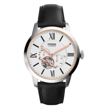 Fossil Townsman Automatic Mens Watch ME3104, Size: 44 mm, Silver