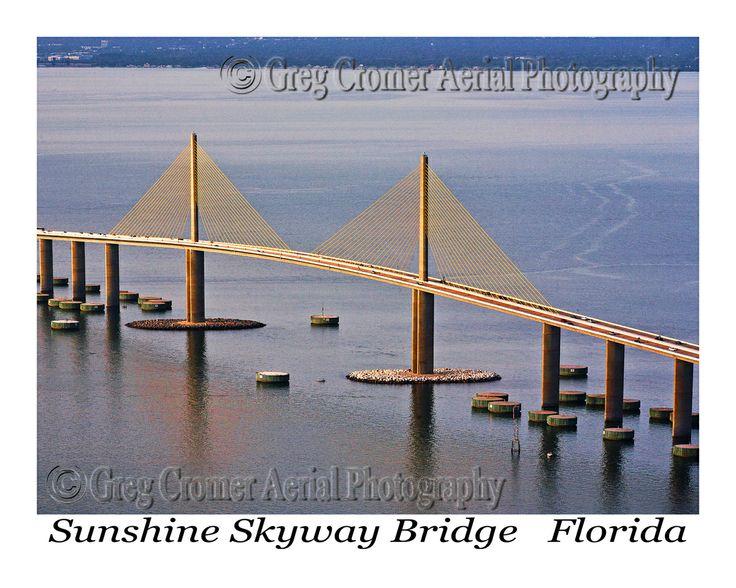 13 Best Images About Sunshine Skyway Bridge On Pinterest