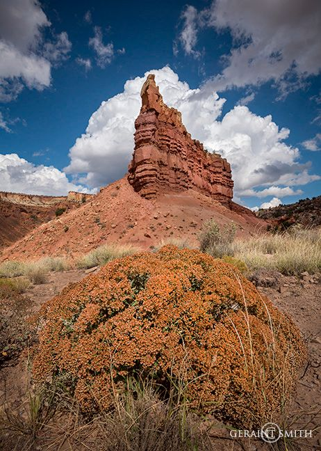 Piedra Lumbre (Shining Rock) Abiquiu, NM - Geraint Smith Photography