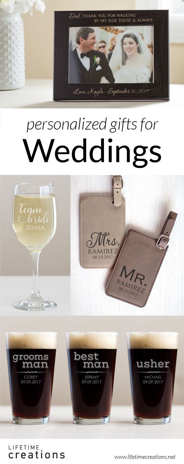 23 best Personalized Wedding Gifts images on Pinterest
