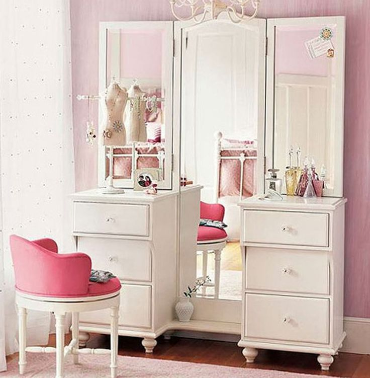 Inspiring Image Deco, Decor, Pbteen, Pink, Vanity   Resolution   Find The  Image To Your Taste