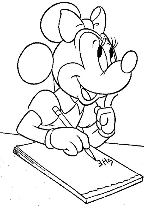 10 best barbie images on Pinterest Coloring pages, Fairy tales and - best of coloring pages for mickey and minnie mouse