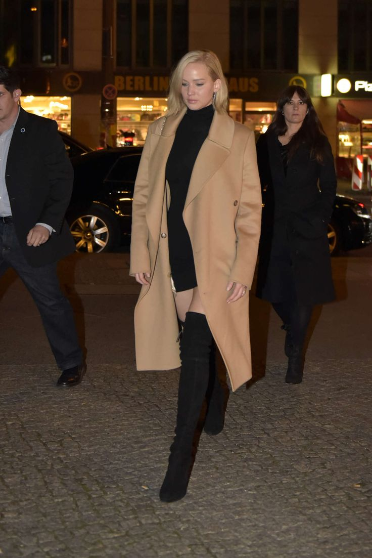 Jennifer Lawrence thigh high boots in Berlin | Thigh and ...