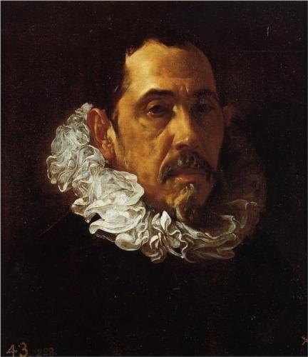 Portrait of a Man with a Goatee - Diego Velazquez
