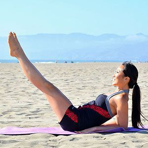 Beginner Pilates workout to do each morning to tone and tighten, from Blogilates founder Cassey Ho