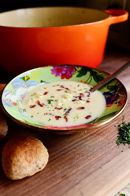 Creamy Cauliflower Soup www.MadamPaloozaEmporium.com www.facebook.com/MadamPalooza