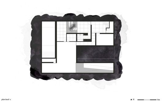 Five Terraces and a Garden,Level -1