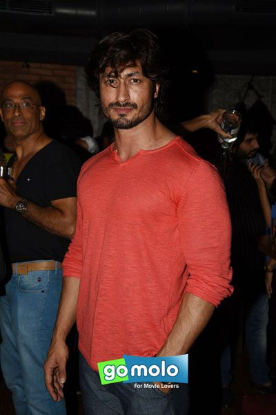 Vidyut Jamwal at Amit Sadh's birthday bash in Mumbai