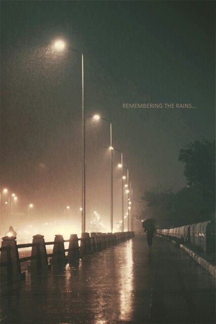 Rains...