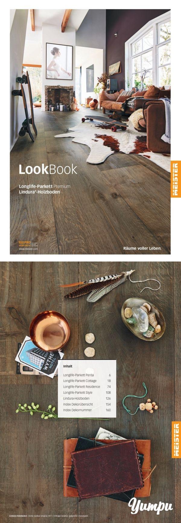 MeisterWerke Lookbook Premium Parkettböden & Lindura -