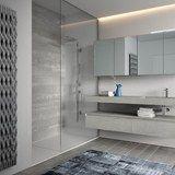 Descarregue o catálogo e solicite preços de Cubik n°15 By ideagroup, casa de banho completa em laminado, Coleção cubik