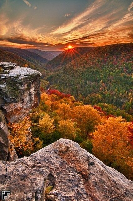 Autumn, Lindy Point, West Virginia  photo via bill