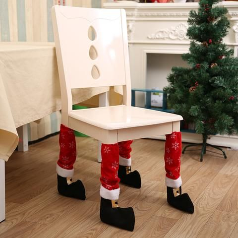 Funny Christmas Table Decoration New Year's Holiday #christmas #tabledecoration #decoration