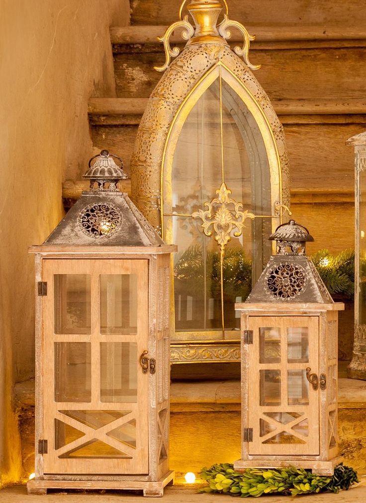 Golden Lanterns for your gardens , Magical Lights