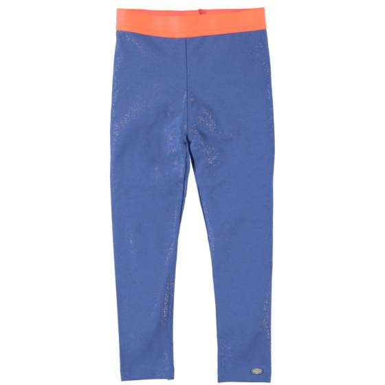 "O'CHILL ""Bente"" lichtblauwe leggings met oranje boord"