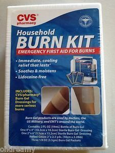 Cvs Pharmacy. Household Burn Kit. Emergency First Aid For Burns