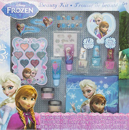 Disney's Frozen Beauty Cosmetic Set for Kids Frozen http://smile.amazon.com/dp/B00GNB3MRI/ref=cm_sw_r_pi_dp_4GH7ub1PFXVAA