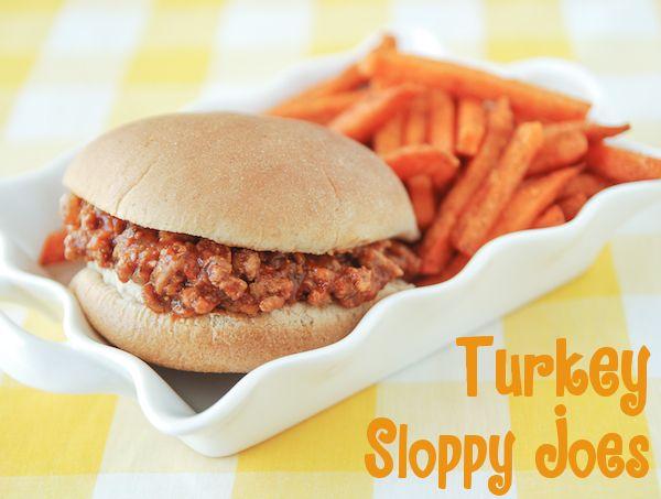 turkey sloppy joes turkey sloppy joes cool recipes healthy recipes ...
